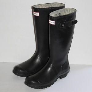Hunter Black Rain-boots Women size 7